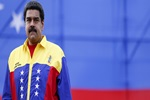 Venezuela's President Nicolas Maduro attends the final campaign rally with pro-government candidates for the upcoming parliamentary elections, in Caracas