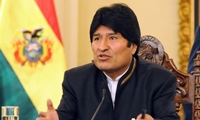 Bolivia sobre Chile
