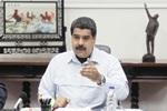 """REUNI""""N DEL CONSEJO DE MINISTROS DE VENEZUELA ENCABEZADO POR NICOL¡S MADURO"""
