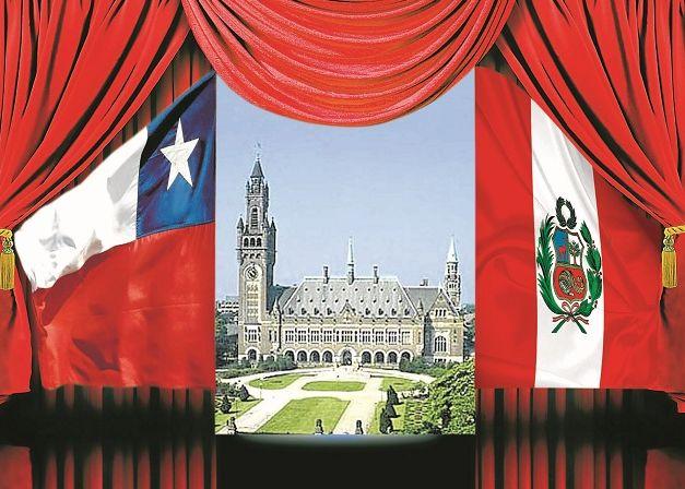 A1-1571236.jpgFOTOMONTAJE DE LA CORTE INTERNACIONAL DE JUSTICIA DE LA HAYA CON BANDERA DE PERU Y CHILE
