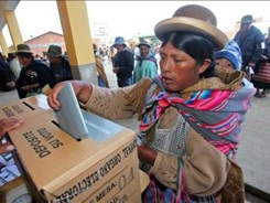 mujeres bolivia