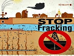 stop frackingded