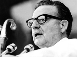 (FILE) Picture taken in February 1973 of the then Chilean president S