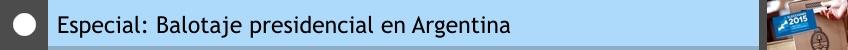Especial Balotaje en Argentina NODAL