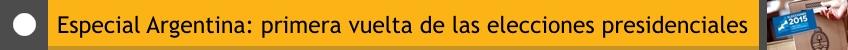 Especial Elecciones Argentina 2015 nodal