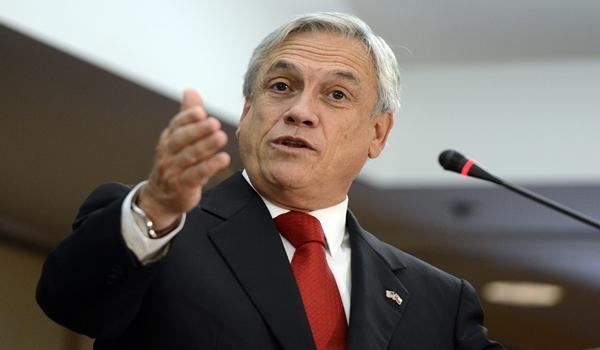 VISITA OFICIAL DEL PRESIDENTE DE CHILE, SEBASTIÁN PIÑERA, A ESTADOS UNIDOS