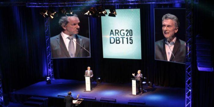 Debate Macri Scioli