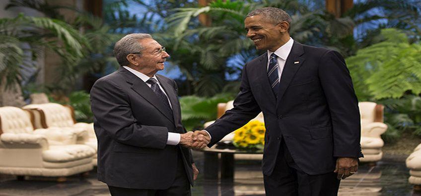 obama y castro hoy