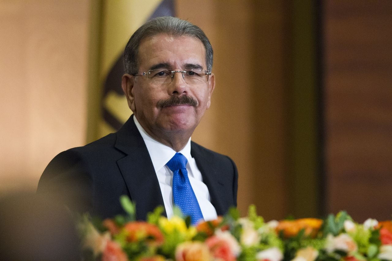 Dominican President-elect Danilo Medina