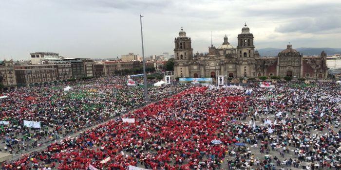 marcha campesinos mexico