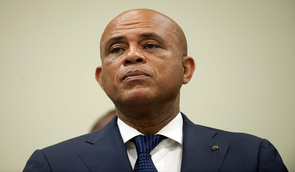 HAITI-POLITICS-MARTELLY-UNITED NATIONS SECURITY COUNCIL