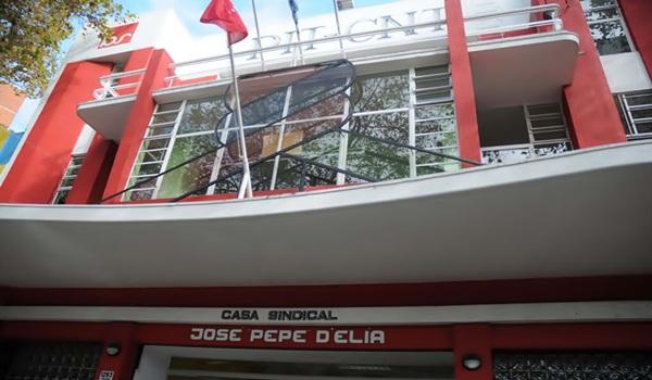 Sede de la central sindical PIT CNT / FOTO G. ZAMORA