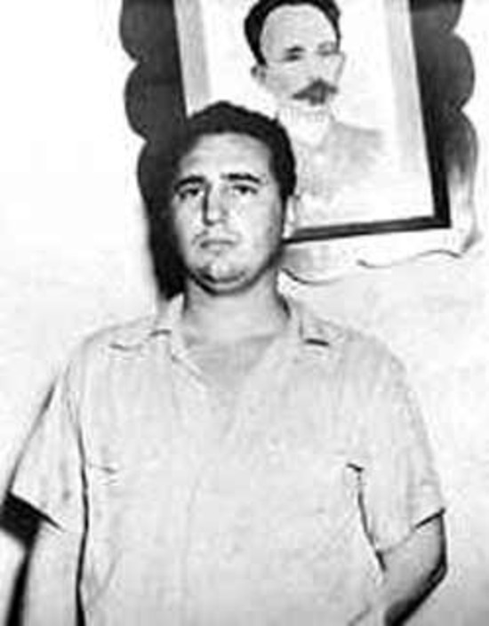 Fidel en Santiago de Cuba