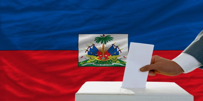 elecciones bandera haiti