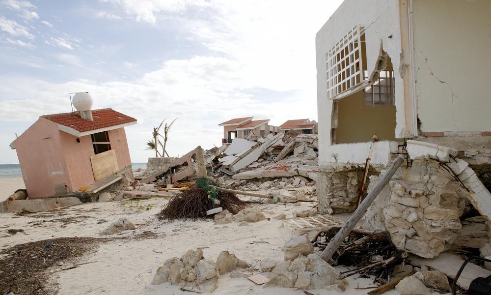 desastre en cancun