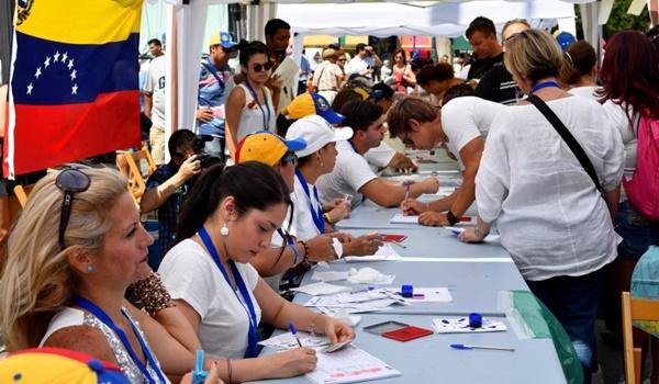 Consulta Popular + plebiscito + venezuela