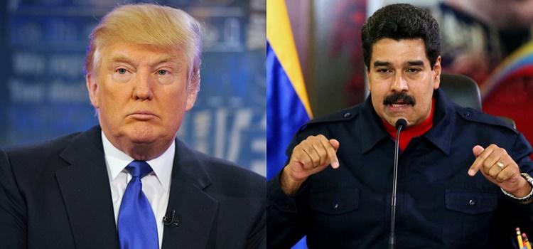 Donald Trump + Nicolás Maduro