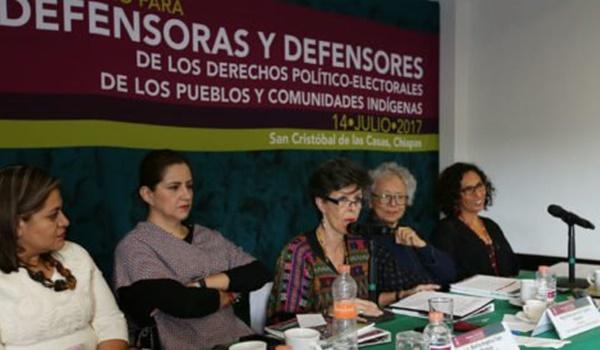 Tribunal electoral + derechos indígenas + México