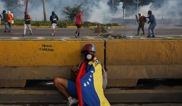 violencia opositora- venezuela