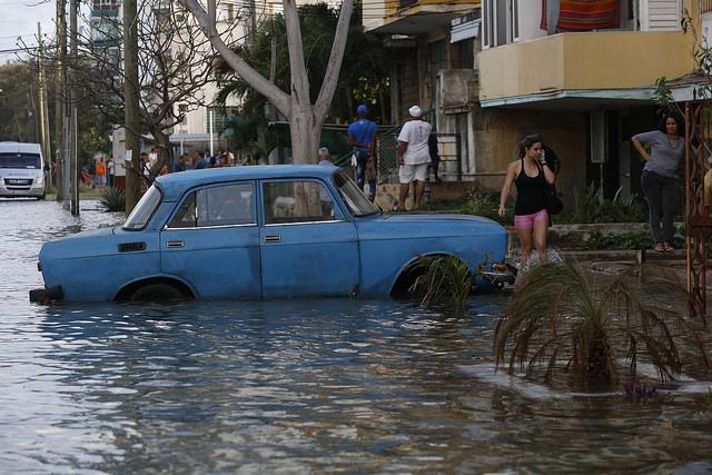 CIU inundacion en el vedado