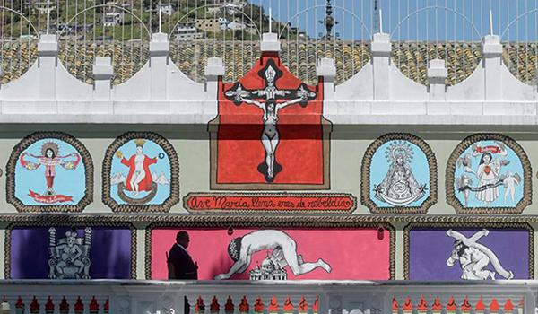 Mural blasfemo 600