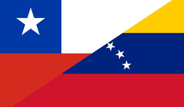 bandera chile venezuela