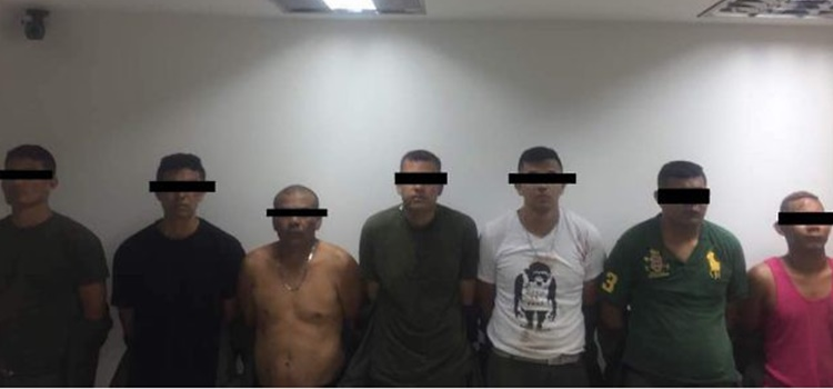 detenidos + Fuerte Paramacay +Venezuela