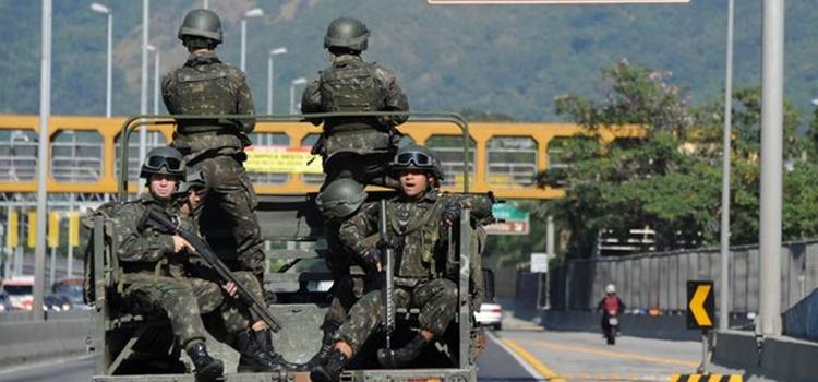 ejército + brasil