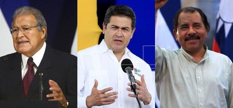 el salvador + honduras + nicaragua