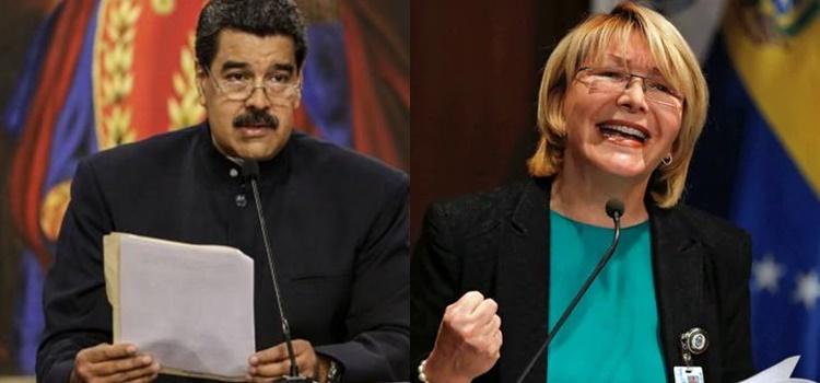nicolás maduro + luisa ortega díaz + venezuela