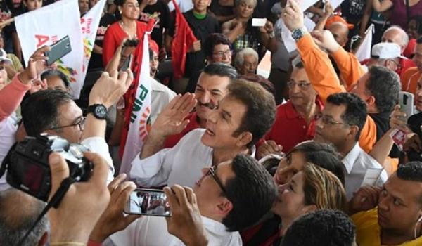 oposición hondureña