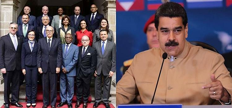 venezuela + cancilleres reunión mercosur