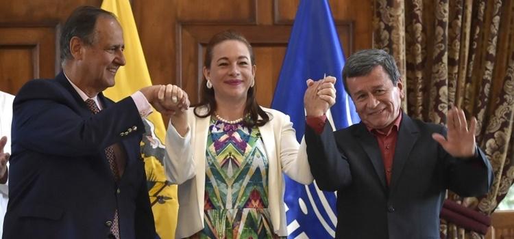 eln + delegacion del gobierno + colombia