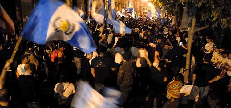 guatemala manifestantes