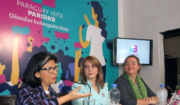 paraguay vota paridad