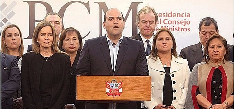 perú + consejo de ministros