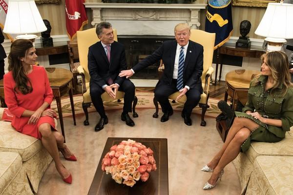 Donald+Trump+Trump+Meets+Argentine+President+9CpVLLI2tifl
