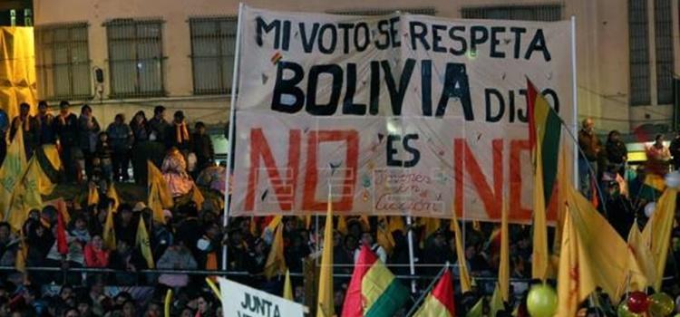 protestas-reelección-no-bolivia