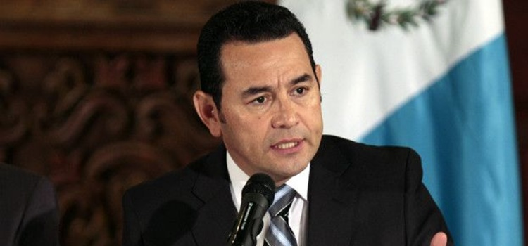 jimmy morales-guatemala