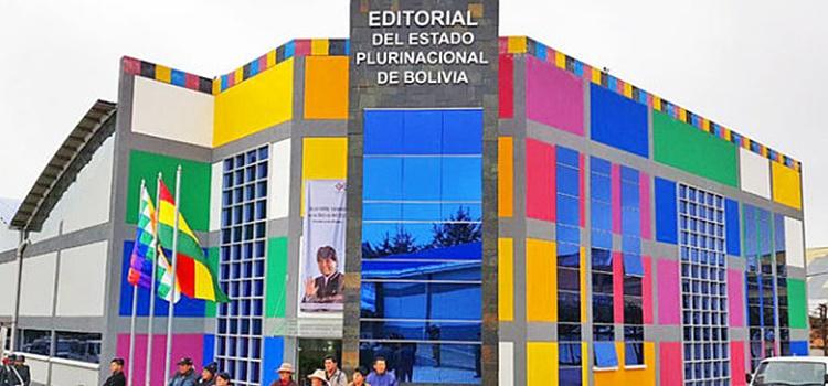 editorial del estado plurinacional de bolivia