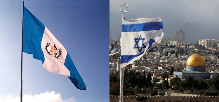 israel + jerusalén + guatemala + embajada