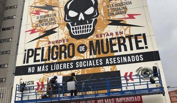 lideres sociales asesinados en colombia