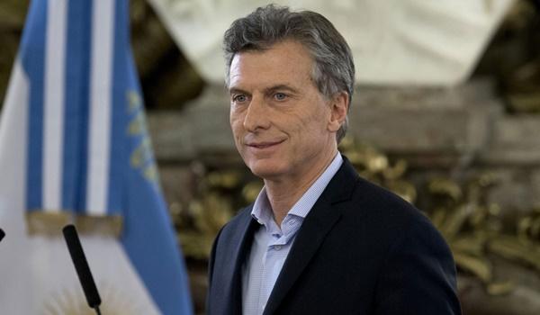 mauricio macri + argentina