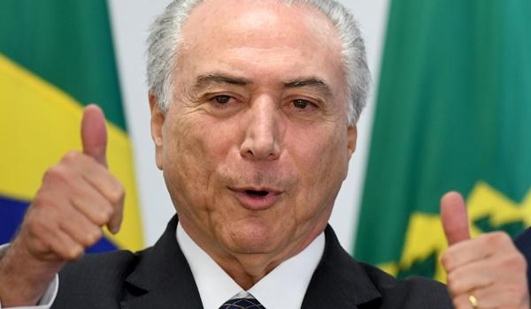 michel temer + brasil