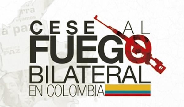 cese al fuego + colombia