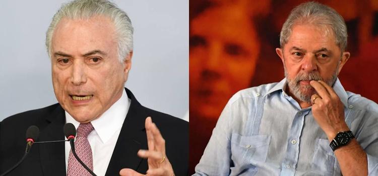 michel temer + lula da silva + brasil