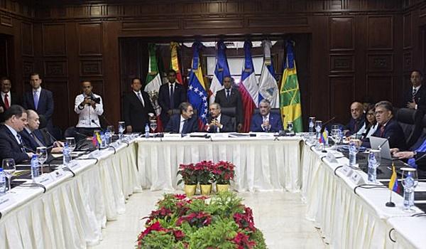 venezuela + diálogo