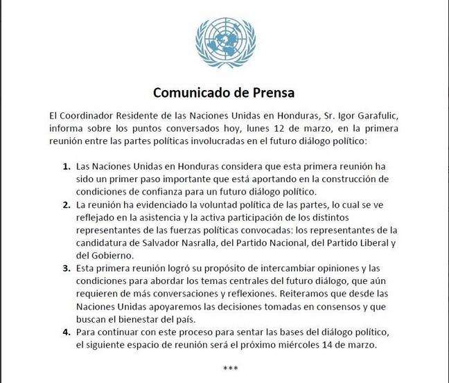 Comunicado-ONU-predialogo
