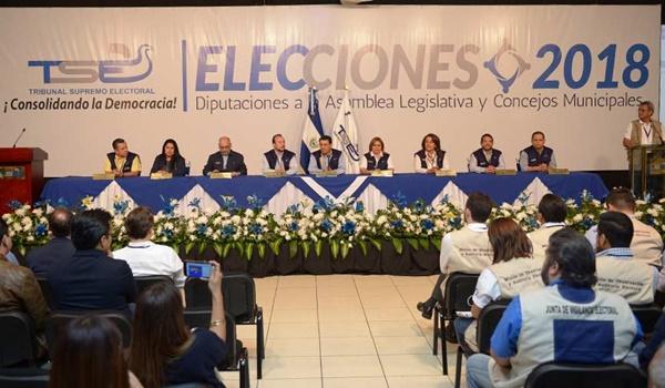 elecciones + el salvador
