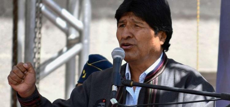 evo morales + bolivia